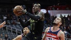 NBA: Satoranský zastoupil zraněného Walla a pomohl porazit Atlantu