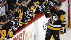 NHL: Simon se trefil po téměř dvou měsících, Krejčí a Palát asistovali