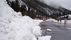 Francii hrozí kvůli sněhu povodně i laviny. Chamonix je odříznuté od světa