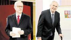 Znovuzvolený prezident vyvolal emoce. Drahoš neměl štěpné téma