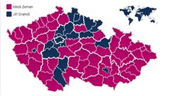 Zeman ztratil v pohraničí, dokázal ale zmobilizovat voliče v chudých regionech