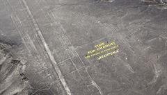 Aktivisté Greenpeace poškodili obrazce na planině Nazca, tvrdí Peru