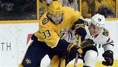 NHL: Kämpf skóroval a pomohl k výhře Chicaga. Boston po 18 zápasech nebodoval