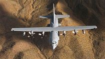 Lockheed EC-130H Compass call.