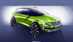 Škoda ukázala návrhy hybridního SUV do města. Model chce představit v Ženevě