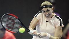 Kvitová zdolala ve třech setech Görgesovou a je ve finále, to si zahraje po půl roce