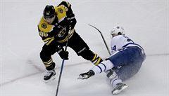 Pastrňák v NHL vstřelil vítězný gól, Mrázek nezabránil prohře