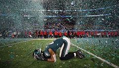 Philadelphia vyhrála Super Bowl. Orli překazili Patriotům obhajobu