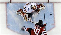 NHL: Rittich dovedl Calgary k výhře, skóroval Zacha a Voráček