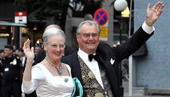 Stav 83letého chotě dánské královny se zhoršil. Jeho syn musel odletět z olympiády