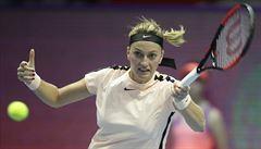 Tenistky Kvitová i Siniaková si v Petrohradu zahrají čtvrtfinále