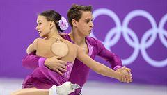 Skvělý úspěch sportovní dvojice Dušková, Bidař. V Koreji pojedou i volnou jízdu