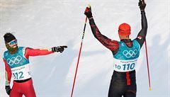 Zima mu nebyla, do cíle dorazil. Tonžský olympijský hrdina protrpěl patnáctku v bolestech