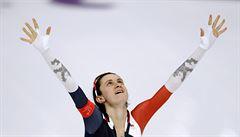 Sáblíková získala na oblíbené pětce 'jen' stříbro. Je to už její šestá olympijská medaile