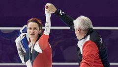Sáblíková útočí na ME ve víceboji na medaili. Po prvním dni je čtvrtá