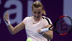 Vítězná série Kvitové končí po 14 výhrách. Vondroušová jde v Indian Wells dál