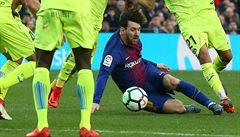 Barcelona překvapivě ztratila doma body s Getafe, její náskok v čele se tenčí