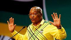 Prezident Jihoafrické republiky Zuma dostal od vládní strany 48 hodin na odstoupení