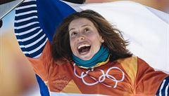 FOTO: Jak medailistka slaví bronz? Vítězství Evy Samkové ve fotografiích