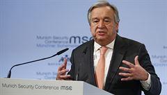 Guterres vyjádřil výhrady vůči plánu Netanjahua anektovat část Západního břehu. Porušil by tím mezinárodní právo