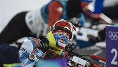 Vítková s Moravcem propadli v závodě dvojic na střelnici. Selhala i smíšená štafeta