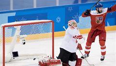 Hokejisté postupují do čtvrtfinále. Po výhře nad Švýcarskem budou hrát se Slováky, nebo USA