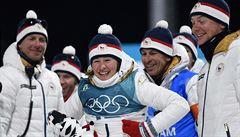 Biatlonová fantazie. Vítková hned v první medailový den her získala bronz!