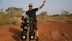 Na kole přes Afriku: Setkání s ještěrkou