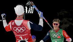 Jakš s Razýmem byli ve sprintu sedmí, Björgenová vylepšila olympijský rekord