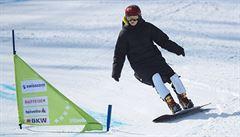 Ledecká přijde o poslední dva závody SP ve snowboardu. Jeden zrušil nedostatek sněhu, druhý koronavirus
