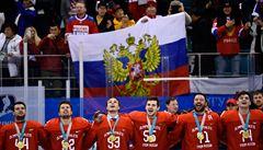 GLOSA: Olympijský bizár, ruští hokejisté zpíváním hymny porušili zákaz. Hloupý zákaz