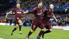 Lionel Messi srovnal duel s Chelsea, Bayern zničil pěti góly Besiktas
