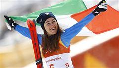 Královnou sjezdu je Goggiaová, Pauláthová dojela na 26. místě