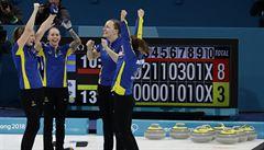 Švédské curlerky vybojovaly zlato, ve finále zdolaly domácí Koreu