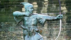 Angličané se bouří proti zrušení hrobu Robina Hooda