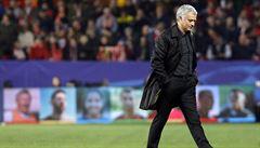 Mourinho: Vyřazení United v osmifinále LM není nic nového. Sám jsem se o to dříve postaral