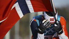 Osmé zlato, patnáctá medaile. Björgenová je nejlepším sportovcem historie ZOH