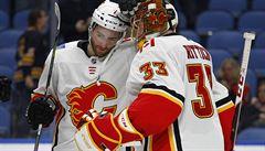 NHL: Rittich přišel o nulu z poslední střely, Voráček vstřelil gól