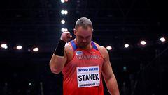 'Moje nejcennější medaile,' raduje se Staněk z bronzu, i když překonával zdravotní potíže