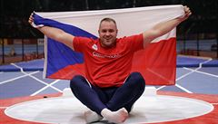 Češi mají první medaili na halovém MS. Koulař Staněk získal bronz