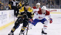 NHL: Pastrňák se blýskl třemi asistencemi. Frk dal gól i díky Krejčímu