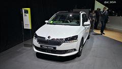 Škoda začala vyrábět modernizovanou Fabii. S výraznější maskou i novými technologiemi