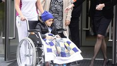 Britský chlapec, který se léčil s rakovinou v Česku, se vrátil domů