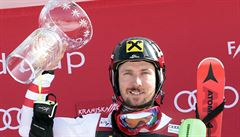 Fenomenální Hirscher opanoval obří slalom a připsal si jubilejní 60. vítězství