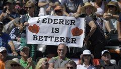 Federer: potřebuje odpočinek, vynechá antukovou šňůru. Všichni smutní, výčitek se nikdo neodváží