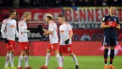 Bundesliga: Bayern ztratil vedení v Lipsku a po třinácti duelech prohrál