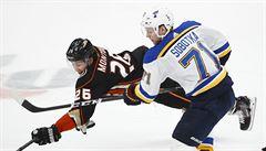NHL: Sobotka skóroval. Ovečkin pokořil hranici 600 branek