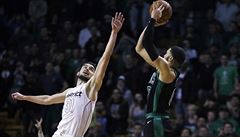 NBA: Satoranský i přes problémy s fauly dovedl Washington k triumfu nad Bostonem