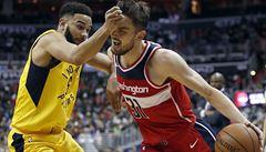 NBA: Satoranský pomohl Washingtonu k důležité výhře, nasbíral 12 bodů