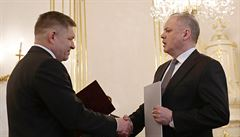 Kiska přijal demisi Ficovy vlády. Novým premiérem Slovenska bude Pellegrini